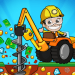 Idle Miner Tycoon Mine & Money Clicker Management MOD APK android 3.62.1