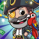 Idle Pirate Tycoon Treasure Island MOD APK android 1.6.0