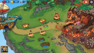 King of defense 2 epic tower defense mod apk android 1.0.1 screenshot