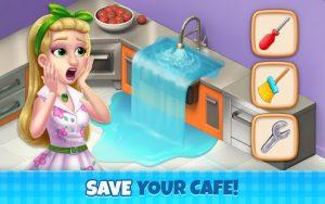 Manor cafe mod apk android 1.116.11 screenshot