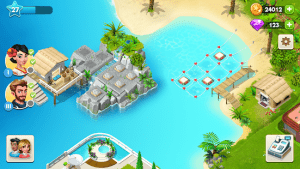 My spa resort grow, build & beautify mod apk android 0.1.81 screenshot