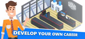 Pc creator pc building simulator mod apk android 4.3.9 screenshot