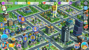 People and the city mod apk android 1.0.706 screenshot