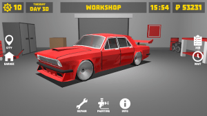 Retro garage car mechanic simulator mod apk android 2.5.0 b53 screenshot