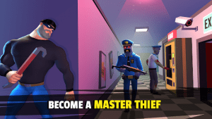 Robbery madness 2 stealth master thief simulator mod apk android 2.0.9 screenshot