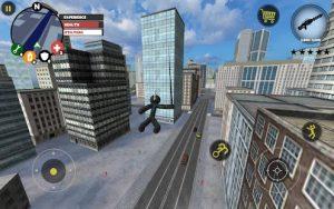 Stickman rope hero mod apk android 3.9.3 screenshot