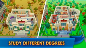 University empire tycoon idle management game mod apk android 1.1.5 screenshot