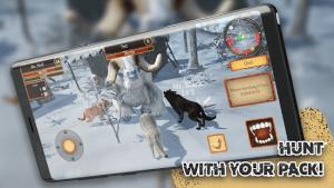 Wolf simulator animal games mod apk android 1.0.3.1 screenshot