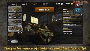 Attack on tank rush world war 2 heroes mod apk android 3.5.1 screenshot