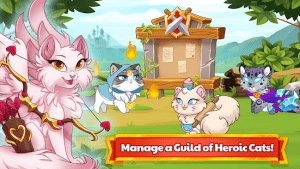 Castle cats idle hero rpg mod apk android 3.2.2 screenshot