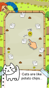 Cat evolution crazy idle merge tycoon simulator mod apk android 1.0.18 screenshot