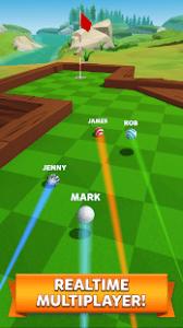 Golf battle mod apk android 1.24.0 screenshot