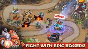King of defense battle frontier merge td mod apk android 1.8.92 screenshot