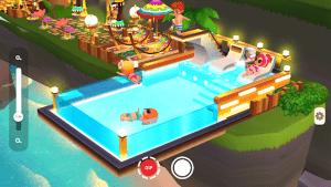 My little paradise island resort tycoon mod apk android 2.18.1 screenshot