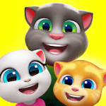 My Talking Tom Friends MOD APK android 1.9.0.17