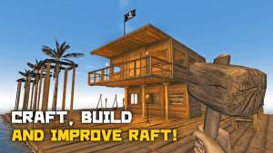 Survival and craft crafting in the ocean mod apk android 272 screenshot