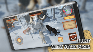 Wolf simulator animal games mod apk android 1.0.3.1 b59 screenshot